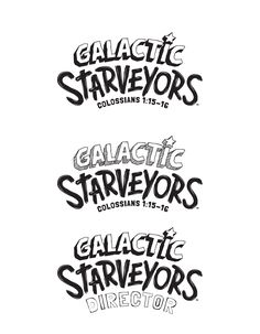 Galactic Starveyors LifeWay VBS Theme Postcard Invitations