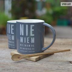"""Kubek """"Nie wiem"""" http://www.spodlady.com/prod_18532_Kubek_Nie_wiem.html"""