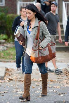 Joan Watson (Lucy Liu) @ Elementary outfit :)