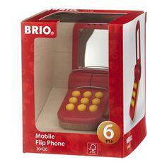 Brio Mon premier téléphone Rouge
