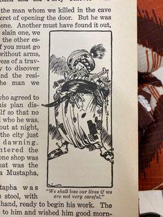 Vintage Book Art, Slay, The Man