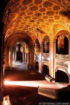 Lobby, Loew's Kings Theatre, Brooklyn, New York. Currently under renovation.