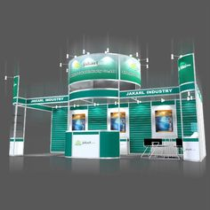 booth design contractor in China