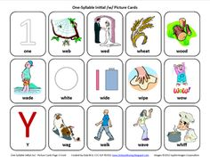 Testy yet trying: Initial W: Free Speech Therapy Articulation Picture Cards