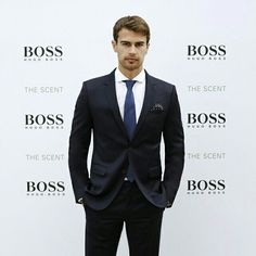 THEO can be my damn boss anyday. Finally underneath all that beard....he still looks like the Old Theo
