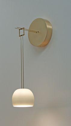 Zeit sconce | Zeitlin Design (via NIDO Living)