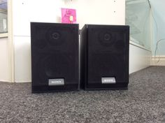 (2) Sony Speaker SS-MB100H   100 Watt max peak   Priced at $29.99 Available at Gadgets and Gold!