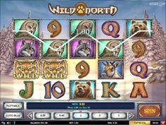 Wild North Spilleautomater - Når du spiller Wild North slot så oppdager du raskt at det er lett å vinne små og hyppige gevinster, ikke minst fordi wildsymboler har en tendens til å dukke opp hele tiden.