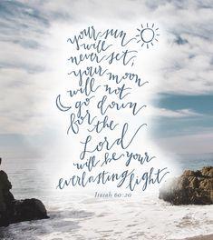 Isaiah 60:20 #LifeVerse