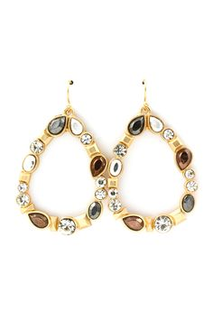 Eva Teardrop Earrings