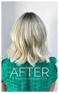 Fed up of Box Dyed Blonde? Put your trust in our master colourists and get that Blonde you actually wanted!   Book a complimentary colour consultation by calling 02920461191 or book online.  O.Constantinou & Sons. 99 Crwys Rd, Cardiff. CF24 4NF  #simonconstantinou #haircolour #cardiff #goldwellsalon #blondebob #blonde #brightblonde #colourcorrection #ashblonde #blondecolourcorrection