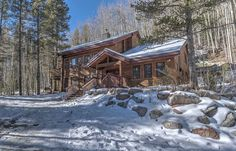 Blue River house rental - Home backs to national forest land in a beautiful… Great Places, Places To Go, Colorado Resorts, River House, Large Homes, National Forest, Places Around The World, Skiing, Cabin