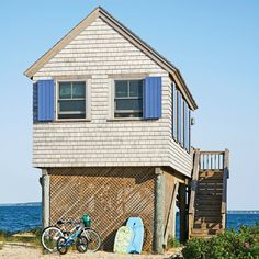 Cottage 3. Pint-Sized Beach House - 5 Tiny Coastal Cottages - Coastal Living