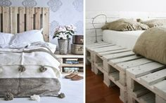 Recortes Decorados: LOS PALETS EN DECORACIÓN. UNA AUTÉNTICA PASADA House Goals, Be My Valentine, Ideas Para, Comforters, Blanket, Interior Design, Storage, Bed, Furniture