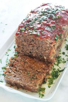 I decided four years ago that I would stop eating meat because my stomach. Meatloaf Recipes, Meat Recipes, Cooking Recipes, Healthy Crockpot Recipes, Grilling Recipes, Healthy Dinner Recipes, Cooking Chef, Cooking Time, Cooking Classes