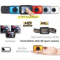 Waterdichte HD sport camera
