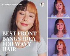 Searching for bangs curly hairstyles? Check hairstyles with bangs for natural curly hair. Choose the one that will fit you and create a superb look! Beige Blonde Hair Color, Blonde Wavy Hair, Curly Hair With Bangs, Natural Wavy Hair, Haircut For Thick Hair, Short Wavy Hair, Braids For Black Hair, Curly Hair Styles, Natural Hair Styles