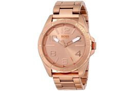 Amazing Hugo Boss Rose Gold Men's Watch