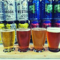 A flight from a month or so ago... Spectra Trifecta by @foundersbrewing  Afterimage by @grimmales  Dunegrass Double IPA by @barrier_brewing_co  Phoenix on Starr Habanero IPA by Bridge & Tunnel Brewery  #craftbeer #Untappd #beerflight #craftbeer