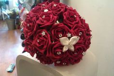 Red Rose foam bouquet