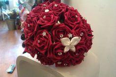 Red Rose foam bouquet