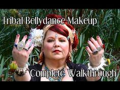 ▶ ATS / Tribal Bellydance Makeup Tutorial  I love the lip color she uses