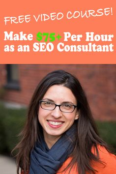 My name is Claudia Pennington and I train and coach aspiring digital marketing & SEO side hustlers.  I help you become an SEO Consultant who can earn $75+ per hour.  If you're here, then you may have heard about SEO or digital marketing before.  And you've decided you want to make extra money working online from home as a side hustler.  Maybe you're already a freelancer and you want to add digital marketing to your list of services.  Either way, we're glad you're here!