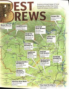 The lower #HudsonValley best #breweries  #beer #ocny #bedandbreakfast #bnb #nearnyc