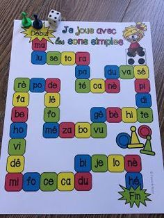 teaching blends to kindergarten ~ teaching blends kindergarten ; teaching blends to kindergarten Read In French, Learn French, French Teacher, Teaching French, Kindergarten Activities, Classroom Activities, Alphabet Sounds, French Education, French Classroom