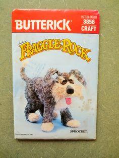 Vintage Butterick 3856 Sewing Pattern Fraggle by sewbettyanddot