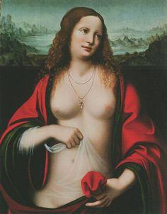 Leonardo di ser Piero da Vinci ( Italian polymath,1452 – 1519) Mary Magdalene