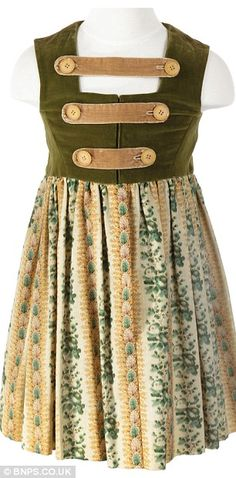 """""""Sound of Music"""" Gretl folk outfit"""