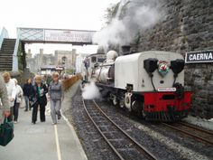The Welsh Highland Railway runs between Porthmadog & Caernarfon meaning passengers can now combine the Ffestiniog and Welsh Highland Railway journeys and travel from Blaenau Ffestiniog to Caernarfon - some 40 miles of narrow-gauge steam. Find out more http://www.logcabinswales.co.uk/things-to-do/narrow-gauge-steam-railways-in-snowdonia