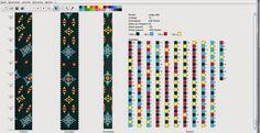 Вязаные бисерные жгуты: Схема жгута