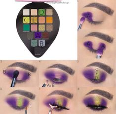 Makeup Eye Looks, Eye Makeup Steps, Eye Makeup Art, Colorful Eye Makeup, Simple Makeup, Makeup Inspo, Eyeshadow Makeup, Makeup Inspiration, Makeup Tips