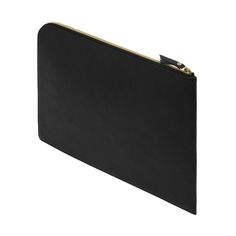 Document Pouch in Black Natural Leather | Men's | Mulberry
