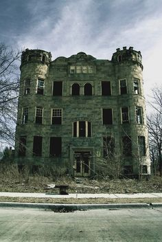 Abandoned Detroit Michigan