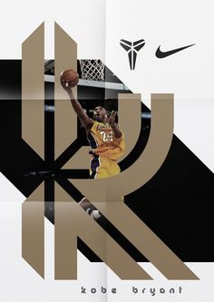 Kobe Bryant — Display Typeface on Behance