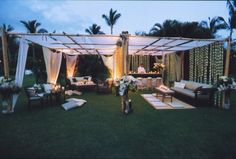 real wedding inspiration from Pacific Aisles and Joe Buissink Photography via AISLEPLANNER.com