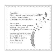 Instagram.com/NoviyanaShiali #Puisi #Sajak #galau #Cinta #Rindu #Harapan #Mimpi #doa