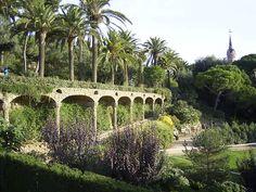 Parc Guelle, Barcelona, Spain