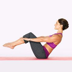 FROM FLAB TO FAB Stop muffin top, nip hips, and trim thighs! This Pilates and plyometrics routine tones every trouble zone.