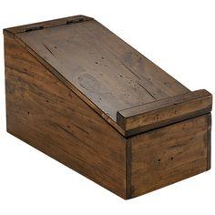 Westbury Shoe Shine Box - Trunks & Boxes - Home Office & Storage
