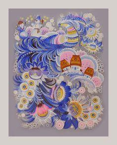 Автор: Тамара Вакуленко ** холст, акрил 2009 г.