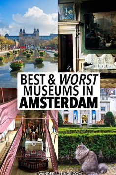 Planning to visit Amsterdam? A former resident's guide to the best museums in Amsterdam and Amsterdam museums to SKIP. Includes tips for skipping the line at the most popular Dutch museums! #Amsterdam #theNetherlands #Holland #Travel