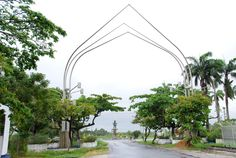 The Independence Arch found at Brickdam, Georgetown - (photo compliments of Kaieteur News)