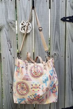 fa21ae8adc74 Cowgirl Gypsy native tribal cactus tote Boho Bag Handbag Purse Western 2  sided  MontanaWest