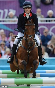 Zara Phillips will be competing High Kingdom at Badminton next week #equestrian #eventing #royalty