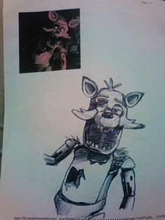 So i drew this in pen! HOW DID I DO? RATE ME!