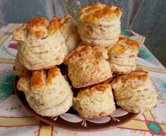 Winter Food, Muffin, Dairy, Sweets, Cheese, Breakfast, Gingham Quilt, Kitchens, Sweet Pastries